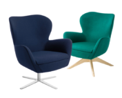Ergostyle Abbey Chair combo blue green